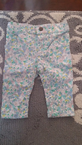 Lot of 6months baby girl pants
