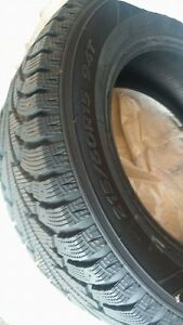 4 WINTER TIRES 2 MONTHS OLD Cambridge Kitchener Area image 1
