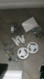 Wii console white bundle in great condition