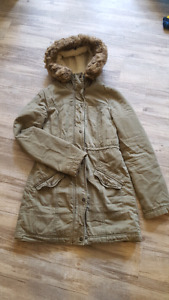 Hollister size s winter coat perfect condition