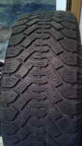 4 Goodyear 16 inch winter tires