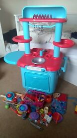 Play Kitchen and loads of accessories