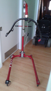 Manual Hydraulic Hoyer Patient Lift & Sling