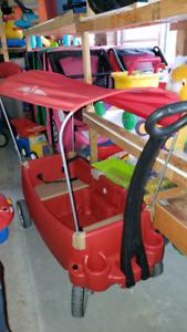 Wagons @ clic klak used toy warehouse
