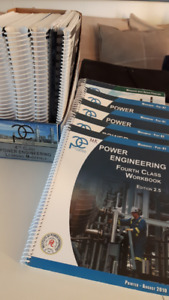 Power Engineering 4th Class books