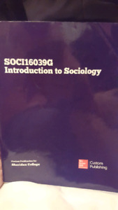 Introduction to Sociology custom publication for Sheri
