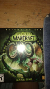 World of Warcraft account and legion cd.