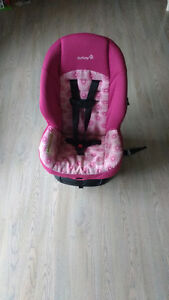 Safety 1st pink carseat