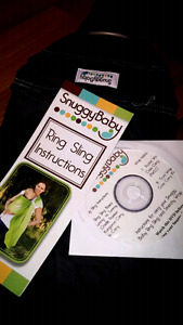 Snuggy baby ring sling