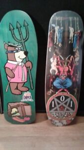 Skateboards - Vintage and Re-issues (Santa Cruz/Powell)