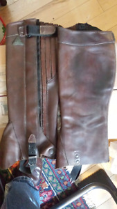 Mountain Horse Mini / Half Chaps - Brown