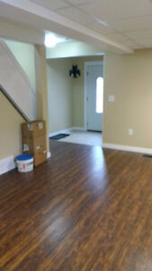 2 bedroom apartment in duplex.  Available Nov. 1st