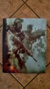 JEU PS4 (PLAYSTATION 4) CALL OF DUTY BLACK OPS 4 STEELBOOK CASE