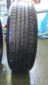 5 used Tires 195x65Rx15 with Rims