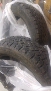 205 55 r/16 winter tires (two)
