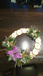 Hand Crafted Holiday Wreaths Strathcona County Edmonton Area image 1