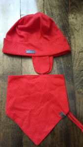 Trois moutons hat and scarf 12-24m