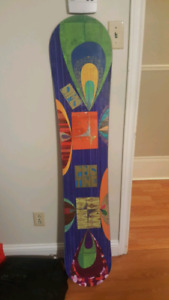 Snowboard and bag for sale