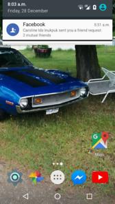 A beautiful 1973 AMC javelin rebuilt 360 new tires new paint