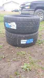 4 x 235 R 22 summer tires for sale $600 obo.