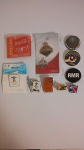 LOT OF 10 COLLECTIBLE METAL PINS & KW OKTOBERFEST LANYARD