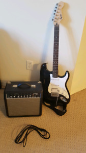 Fender Squier Stratocaster and Frontman 15R