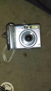 Power shot A520 camera