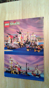 LEGO 6277  Pirates Imperial Trading Post VTG Instruction Only
