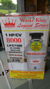 Garbage Disposer - Brand New in Box