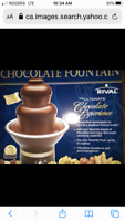 RIVAL CHOCOLATE FOUNTAIN USED