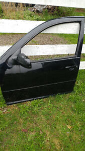 VW MK4 Jetta/Golf  PARTS - DOORS,  TRUNK & FENDER (ALL BLACK)