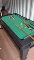 Combined Pool / Air Hockey Table