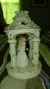 Cake topper and unity candle