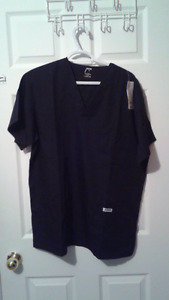 Black Scrub Top Brand New with tags