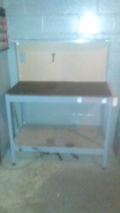 Certified Work Bench!  Tool box. Filled w hand tools