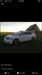 FOR SALE or Trade 2009 Honda Civic EX-L Sedan