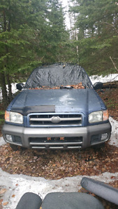 1999 nissan pathfinder parts/bush truck