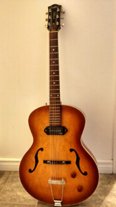 Godin fifth Avenue Kingpin archtop and tric case.