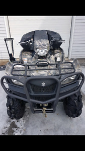 2015 Suzuki King Quad 750 4x4
