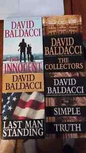 David Baldacci: Last Man Standing, The Collectors, The Innocent,