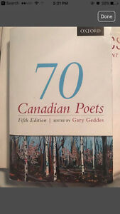 70 Canadian Poets