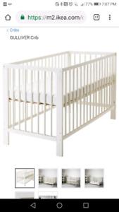 ikea gulliver convertable crib