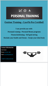 Outdoor Personal Training (CHEAP)