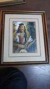 Indian pictures $125 for all 4  Peterborough Peterborough Area image 2