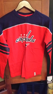 BRAND NEW  WASHINGTON CAPITALS  SHIRT