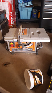Rigid mitre saw and table saw
