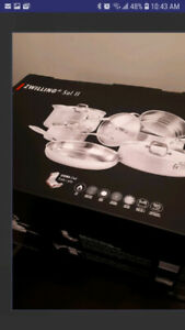Brand New Zwilling 18/10 Steel 10pc Set