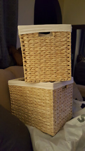 2x large new baskets