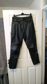 Leather Motorcycle Trousers Ladies