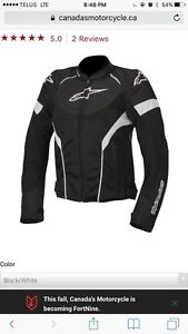 S> Alpinestars Stella T-GP Plus R Air Womens jacket XS